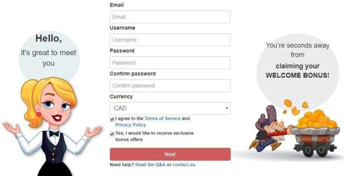 WinsPark Bonus Code