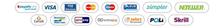 Scratch Mania Payment Methods