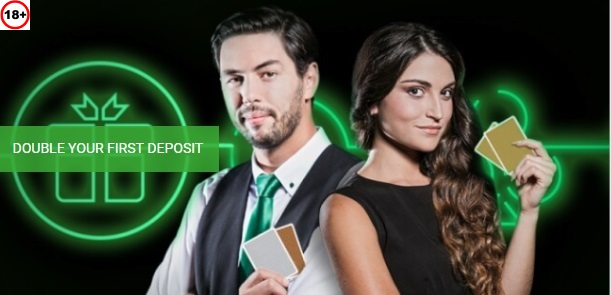 Unibet Welcome Bonus Offer - Double your first deposit - Terms and conditions apply - Read more below - Clicking on this Image will take you to Unibet Canada