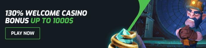 Evobet Casino Bonus - 100% Casino bonus up to $500 - Terms and conditions apply - Read below