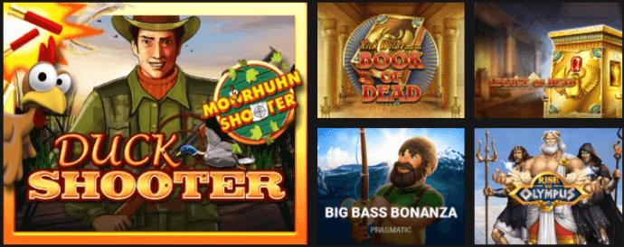 Casino Sieger online slot machine offer