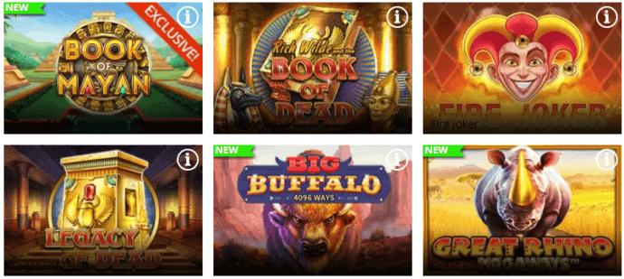 Greenplay Casino Games