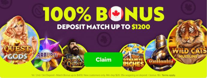 Lottomart Bonus Offer