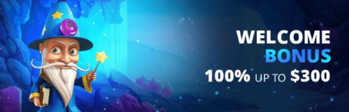Rembrandt Casino welcome bonus - 100% up to CAD 300