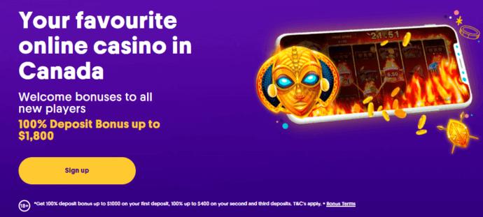 Casumo Casino Bonus - Your favourite online casino - Welcome bonuses to all new players - 100% match bonus up to $1000- Bonus terms and conditions apply