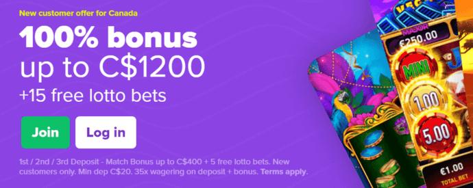 Lottomart Bonus