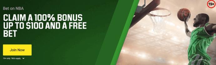 Unibet Canada Bonus Offer Screenshot - Claim a 100% bonus up to $100 + free bet