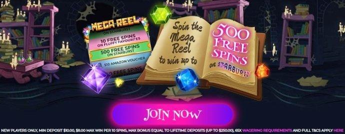 Wizard Slots Promo Code