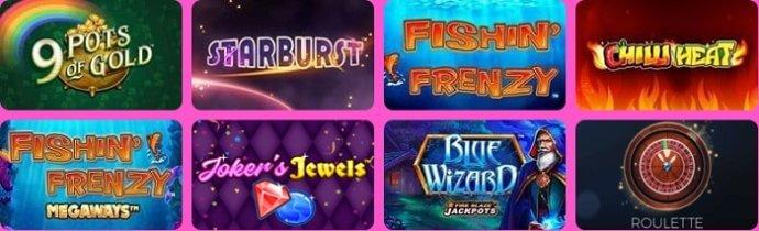 Wizard Slots Casino Games